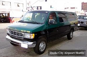 Quake City Airport Shuttle Service To And Form San